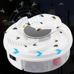 GRH électrique anti FlyTrap Pest Catcher Tueur Repeller Bug Insectifuge Piège à mouches Dispositif avec piégeage alimentaire Pest Control de la marque GRH image 1 produit