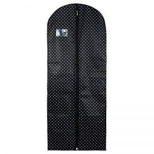 Hangerworld Housse de Protection Noire à Pois pour Robe - 150 x 61cm de la marque Hangerworld image 0 produit