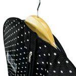 Hangerworld Housse de Protection Noire à Pois pour Robe - 150 x 61cm de la marque Hangerworld image 2 produit