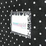 Hangerworld Housse de Protection Noire à Pois pour Robe - 150 x 61cm de la marque Hangerworld image 4 produit