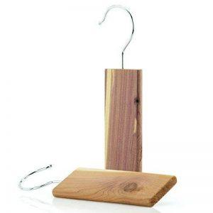 Hangerworld Lot de 2 blocs antimites en bois de cèdre naturel à suspendre de la marque Hangerworld image 0 produit