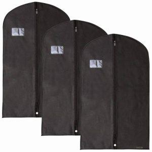 Hangerworld Lot de 3 Housses de Protection pour Vêtements/Costumes - 100CM x 60 cm de la marque Hangerworld image 0 produit