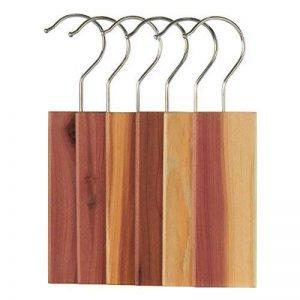 Hangerworld Lot de 6 blocs antimites en bois de cèdre naturel à suspendre de la marque Hangerworld image 0 produit
