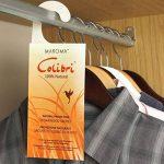 Hangerworld - Sachet anti mites à pendre. Ingrédients naturels - Bois de cèdre - Sachet : 22cm x 8cm. de la marque Hangerworld image 1 produit