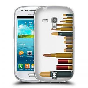 Head Case Designs Vitrine Limaces Métalliques Étui Coque en Gel molle pour Samsung Galaxy S3 III mini de la marque Head Case Designs image 0 produit