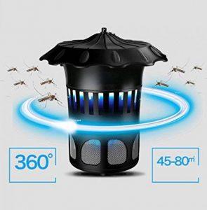 HETAO Flying Killer LED-Ray Insecte Tueur, Bionic Moustique Répulsif Moustique USB Répulsif 35Db Noise Reduction Metal Poignée Aucun Produits Chimiques Noir de la marque HETAO image 0 produit