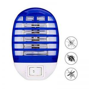 HLU Lampe Anti-Moustique Deux, LED Destructeur de Moustique Interieur Électronique Zapper Lampe de la marque HLU image 0 produit