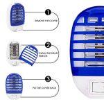 HLU Lampe Anti-Moustique Deux, LED Destructeur de Moustique Interieur Électronique Zapper Lampe de la marque HLU image 2 produit