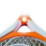 Homieco™ USB Rechargeable Raquette électrique destructrice d'insectes Swatter Zapper Racket Insecticide intérieur et extérieur avec lampe LED de la marque Homieco image 2 produit