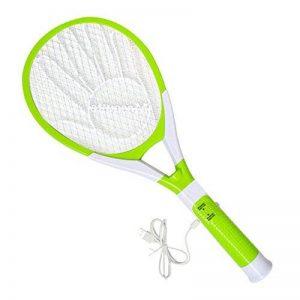 Homieco™ USB Rechargeable Raquette électrique destructrice d'insectes Swatter Zapper Racket Insecticide intérieur et extérieur avec lampe LED de la marque Homieco image 0 produit