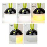 HOOMEE Lanterne portable LED Anti-moustique - Petite lampe rechargeable USB ronde – Prix Red Dot - Parfait pour les activités intérieures, Camping, Situations d'Urgence, Décoration - Imperméable à l'eau, étanche à la poussière - 4 modes d'éclairage de la image 4 produit