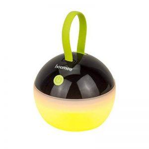 HOOMEE Lanterne portable LED Anti-moustique - Petite lampe rechargeable USB ronde – Prix Red Dot - Parfait pour les activités intérieures, Camping, Situations d'Urgence, Décoration - Imperméable à l'eau, étanche à la poussière - 4 modes d'éclairage de la image 0 produit