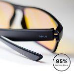 ⭐ [Horus®] - Lunettes anti lumière bleue GAMING | Filtre le plus puissant du marché > 95% | Anti fatigue Gamer (TV, ordinateur, écrans...) / Sommeil amélioré de la marque image 1 produit