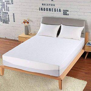 Housse de lit - Alèse étanche - Anti-poussières, anti-punaises et anti-acariens - Hypoallergénique - Housse de protection de matelas de la marque Vosyoung image 0 produit