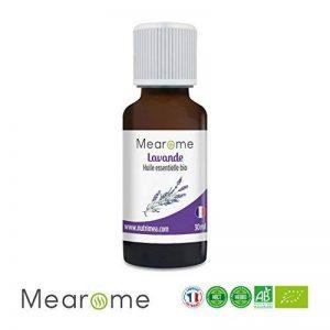 Huile Essentielle de Lavande Vraie Bio Mearome - 30ml - 100% Pure et Naturelle - HEBBD - HECT - Qualité et Fabrication Française de la marque Mearome image 0 produit
