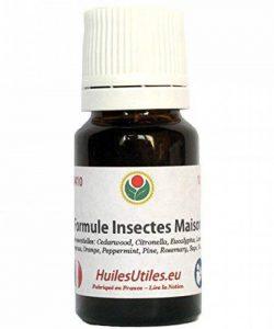 HuilesUtiles - La Formule Insectes Maison - 10 ml de la marque Huiles Utiles image 0 produit