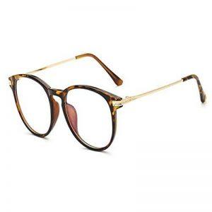 Hzjundasi Lumière bleue Filtre Ordinateur Des lunettes Anti-rayonnement UV Lentille claire Vintage Rond Goggle Hommes/Femmes de la marque Hzjundasi image 0 produit