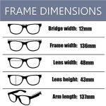 Hzjundasi Lumière bleue Filtre Ordinateur Des lunettes Anti-rayonnement UV Lentille claire Vintage Rond Goggle Hommes/Femmes de la marque Hzjundasi image 2 produit