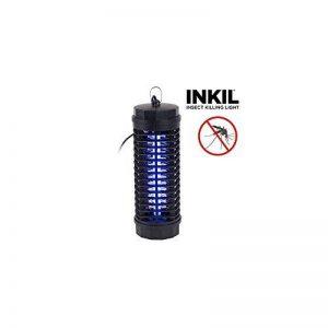 Inkil IG104209 Lampe anti-moustiques électrique cylindrique à lumière ultraviolette Foudroie les insectes sans avoir recours à des substances chimiques Noir 30m² 6W 220V de la marque Inkil image 0 produit
