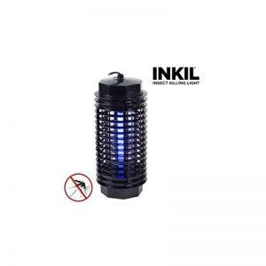 Inkil IG104216 Lampe anti-moustiques électrique cylindrique à lumière ultraviolette Foudroie les insectes sans avoir recours à des substances chimiques Noir 32m² 4W 220V de la marque Inkil image 0 produit