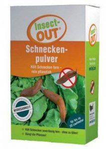 Insect-Out® escargot Poudre 1000g Maintient escargots fiable Télécommande sans vous Tuer de la marque Insect-OUT image 0 produit
