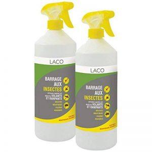 Insecticide en Spray, Anti-Insectes - Barrage aux Insectes - 2x 1L de la marque Laco - ABC-Diffusion image 0 produit