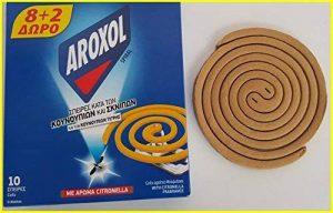 Insectifuge bobines avec d'encens Citronnelle pour moustiques (et Tiger) Moucherons mouches insectes de la marque Aroxol image 0 produit