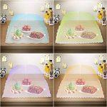 Ipow 4 Pcs Cloche Alimentaire/Cloche Anti-insectes/Aliments Tente/Couvercle de nourriture Pliante écran en maille Parapluie,4 Couleurs,Anti-mouche,Moustiques protection pour les fruits ou fromage-43cm de la marque ipow image 2 produit