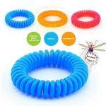 Isuper 20pcs Bracelets anti-moustique avec 6pcs Autocollants Anti- Moucheron Naturels Huiles essentielles Ne contient pas de DEET Résiste à l'eau - Aléatoire de la marque Isuper image 1 produit