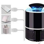 iZiv Anti Moustique Lampe, Piège Anti-Moustique Lampe LED, Deux Couleurs Anti Moustique électrique Utilisé pour Chambre à coucher, Cuisine, Sous-sol, Café, Garage (Blanc) de la marque iZiv image 4 produit