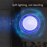 iZiv Anti Moustique Lampe, Piège Anti-Moustique Lampe LED, Deux Couleurs Anti Moustique électrique Utilisé pour Chambre à coucher, Cuisine, Sous-sol, Café, Garage (Blanc) de la marque iZiv image 3 produit