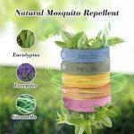 Janolia Bracelet anti-moustique, 12pcs 100% substances naturelles intérieur de plein air non toxique pour les bébés, les enfants les femmes enceintes les personnes sensibles de la marque Janolia image 1 produit