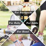 Janolia Bracelet anti-moustique, 12pcs 100% substances naturelles intérieur de plein air non toxique pour les bébés, les enfants les femmes enceintes les personnes sensibles de la marque Janolia image 3 produit