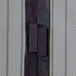 JAROLIFT Moustiquaire| Rideau magnétique pour portes 110 x 220cm| blanche, individuellement découpable (en largeur et hauteur) de la marque Jarolift image 2 produit