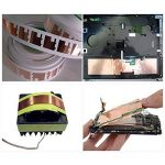 Jia HU Sécurité Feuille de cuivre ruban adhésif conducteur adhésifs pour papier imperméable circuits électriques réparation de mise à la terre 20m 50 mm de la marque Jia Hu image 4 produit