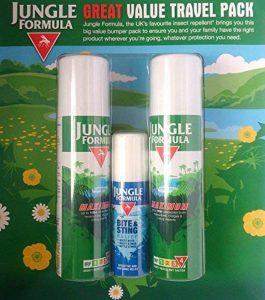 Jungle Formula maximum Spray jusqu'à 10HR Protection contre les moustiques, moucherons et autres insectes piqueurs, Jungle Formule Bite & Sting Relief Spray de la marque Jungle Formula image 0 produit