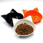 Jycra pour animal domestique Mangeoire Bol, Premium mignon non toxique antidérapant Base Chat Gamelles léger et solide Bol Idéal pour nourrir les chiens, chats et animaux de compagnie de la marque JYCRA image 1 produit
