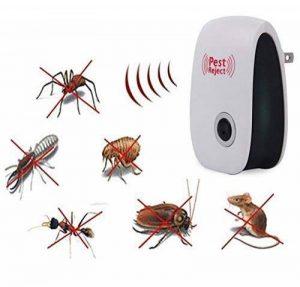 Karl Aiken ultrasonique Répulsif, Electronic Plug en Répulsif Antiparasitaire, intérieur, avec lumière de nuit pour cafards, rongeurs, mouches, moustiques, fourmis, araignées, puces, souris de la marque Karl Aiken image 0 produit