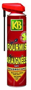 KB HOME DEFENSE KB Anti Fourmis Araignees Aerosol 400ml de la marque KB HOME DEFENSE image 0 produit
