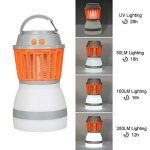 KidsHobby Lampe Camping anti Moustique, 2 en 1 anti Moustiques Lanterne Tente Lumière IP67 Imperméable USB de Charge Zapper Lampe pour le Camping en Plein Air Randonnée et Urgences de la marque KidsHobby image 2 produit