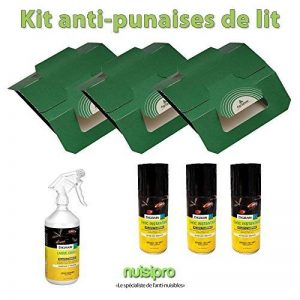 Kit complet NUISIPRO - Traitement insecticide contre les punaises de lit, action choc + préventive, de la marque Nuisipro image 0 produit