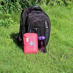 Kit de premier secours 119 pcs - Sac de survie d'urgence, Designer pour la voiture, la maison, Camping, Chasse, Voyage, Plein air ou Sports, Petit et compact de la marque iProtecting image 4 produit