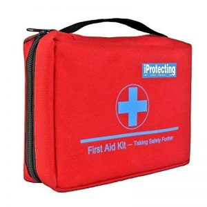 Kit de premier secours 119 pcs - Sac de survie d'urgence, Designer pour la voiture, la maison, Camping, Chasse, Voyage, Plein air ou Sports, Petit et compact de la marque iProtecting image 0 produit