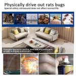 Kobwa Bug électronique Zapper USB, lampe ultra silencieuse d'insectifuge de moustique d'intérieur de LED, piège de mouche attrape-moustiques pour la cuisine à la maison Patio de jardin, Noir de la marque Kobwa image 1 produit