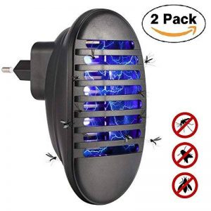 Konesky insectifuge moustique tueur, Bug Zapper électronique moustique tueur lampe alimenté par USB LED pour la maison cuisine jardin en plein air (2 pack) de la marque Konesky image 0 produit