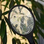 kwmobile Tapette à mouches électrique - Raquette anti insecte contre mouche moustique et autres insectes - Tapette avec décharge électrique - noir de la marque kwmobile image 1 produit