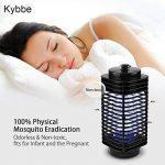 Kybbe Nuit Lumière Insectes Insectes Électrique Mosquito Tueur Piège Lampe Tueur Anti Moustique Insectes Mouche Bug EU Pratique 110V/220V. de la marque Kybbe image 5 produit