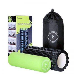 KYLIN SPORT Rouleau en Mousse de Massage 2 en 1 Foam Roller Trigger Point pour le Pilates Yoga Crossfit … (Foam roller 2 en 1) de la marque KYLIN SPORT image 0 produit