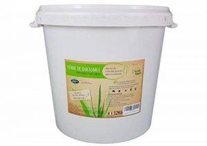 L'herbe Haute Terre de Diatomée Alimentaire Blanche -12KG- Utilisable en Agriculture Biologique - Haute pureté sans Traitement Ni adjonction - Élimine Puces, punaises de Lit, poux. Nombreux Usages de la marque L'herbe Haute image 0 produit