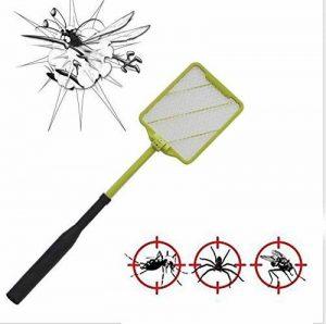 L&R Raquette de moustique électrique, Insecticide volant à l'abeille Alimenté par batterie, Raquette raquette électrique à moustiques réglable de la marque L&R image 0 produit